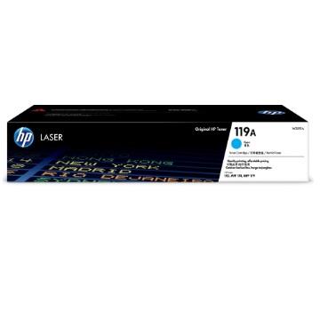 惠普HP 119A 青色原廠碳粉匣