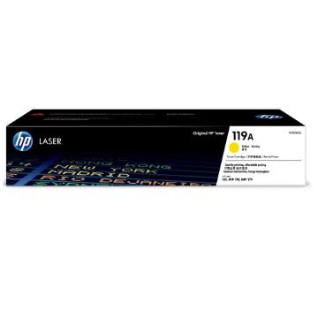 惠普HP 119A 黃色原廠碳粉匣