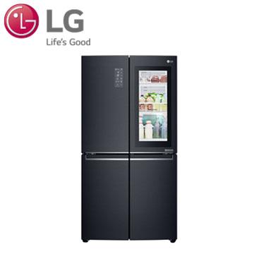 LG 870公升敲敲看門中門冰箱