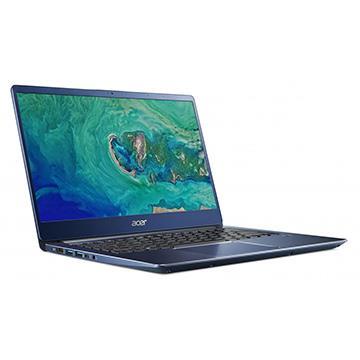 ACER SF314-藍 14吋窄邊框筆電(i5-8265U/4GB/256G)