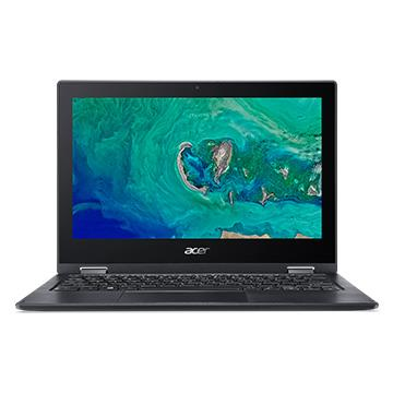 ACER SP111-黑 11.6吋觸控翻轉筆電(N5000/4GD4/500G/W10)