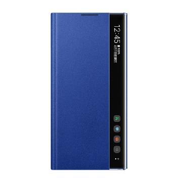SAMSUNG Note10+ 原廠全透視感應皮套-藍