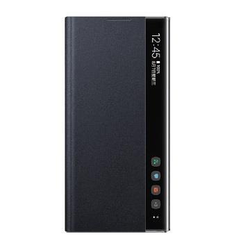SAMSUNG Note10+ 原廠全透視感應皮套-黑