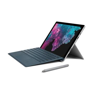 【鍵盤同捆組】微軟Surface Pro 6 i5-8G-128G(白金)