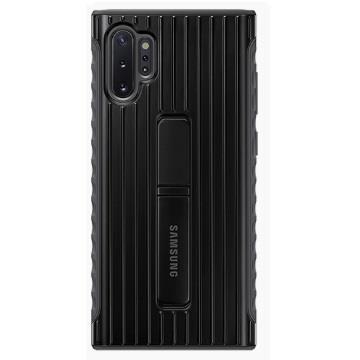 SAMSUNG Note10+ 原廠立架式保護皮套-黑