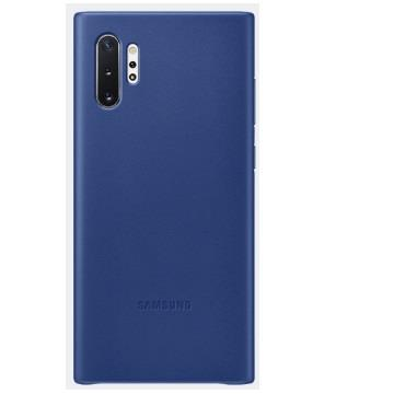 SAMSUNG Note10+ 原廠皮革背蓋-藍