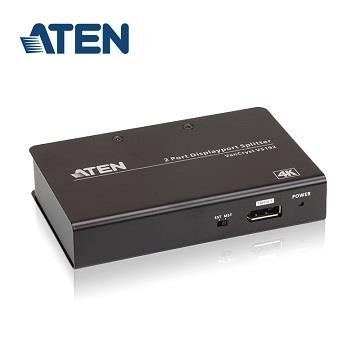 ATEN VS192 2埠4K DisplayPort分配器