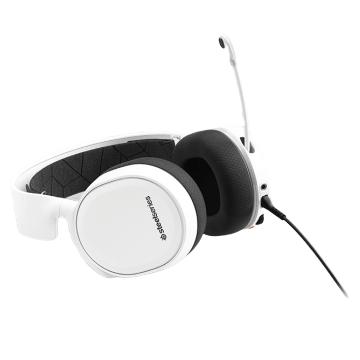 SteelSeries Arctis 3 耳麥-白