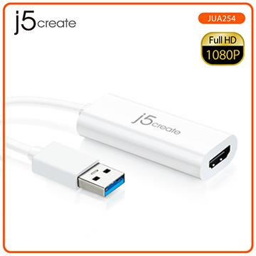 【拆封品】j5create USB 3.0 to HDMI外接顯示卡