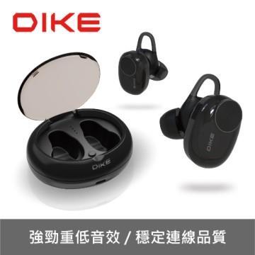 DIKE DEB520 Tiro真無線藍牙耳麥-黑