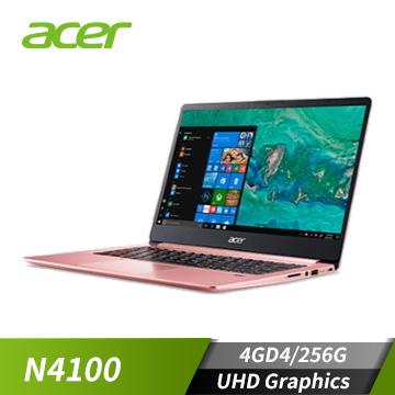 (福利品)ACER宏碁 Swift 1 筆記型電腦(N4100/4GD4/256G)
