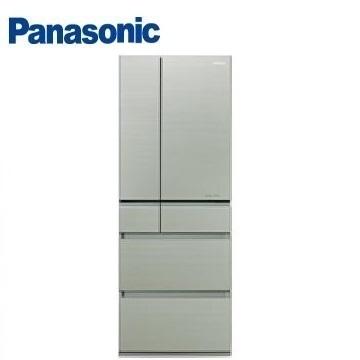 【福利品】展-Panasonic 600公升六門變頻玻璃冰箱