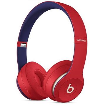 Beats Solo3 Wireless 頭戴式耳機-學院紅