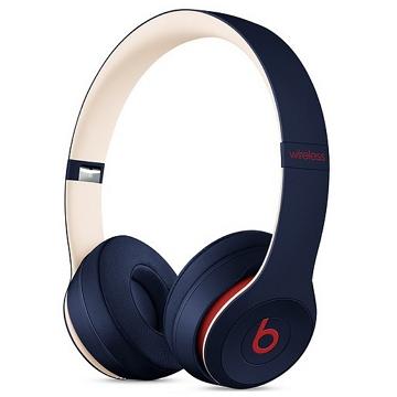 Beats Solo3 Wireless 頭戴式耳機-學院藍