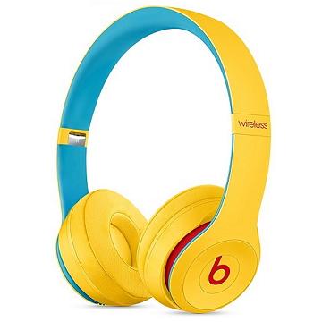 Beats Solo3 Wireless 頭戴式耳機-學院黃