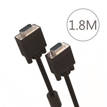 DIKE VGA公對公訊號連接線-1.8米