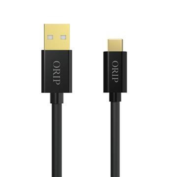 ORIP Type-C USB傳輸充電線黑-1.5M