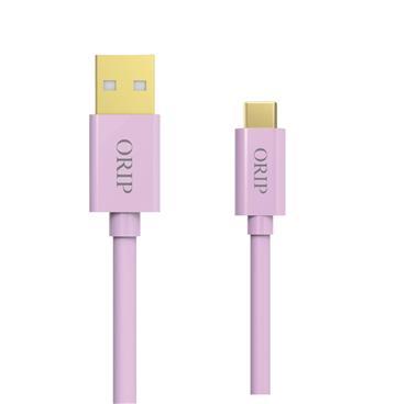 ORIP Type-C USB傳輸充電線粉-1.5M