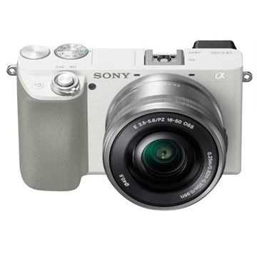 SONY α6100L可交換鏡頭相機KIT-白