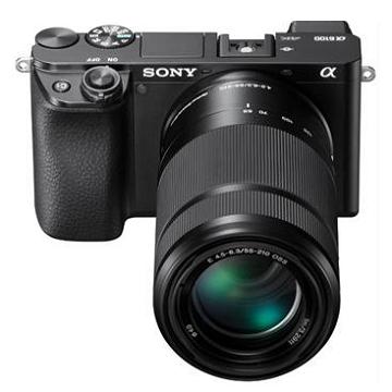 索尼SONY α6100Y可交換鏡頭相機 KIT 黑