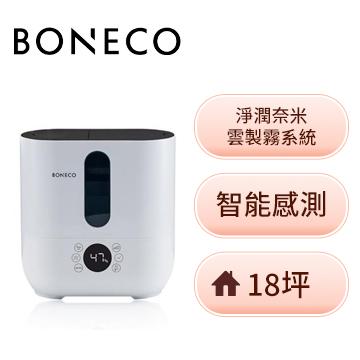 BONECO智能冷/暖霧超音波加濕機(白)