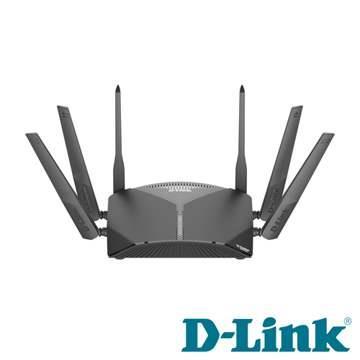 【拆封品】D-Link DIR-3060 三頻Wi-Fi Mesh無線路由器