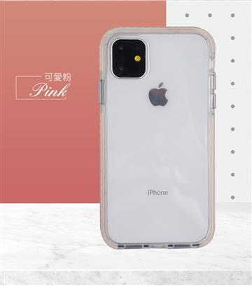 GNOVEL iPhone 11 輕薄防震保護殼-粉 Knight Shield 6.1 PK