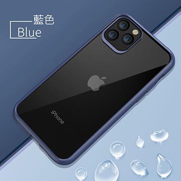 GNOVEL iPhone 11 Pro 雙料抗刮保護殼-藍