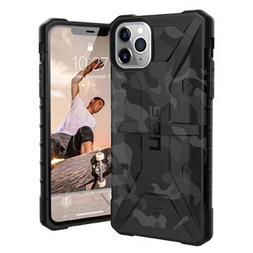 UAG iPhone 11 Pro Max耐衝擊迷彩保護殼-黑