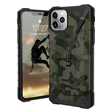 UAG iPhone 11 Pro Max耐衝擊迷彩保護殼-綠