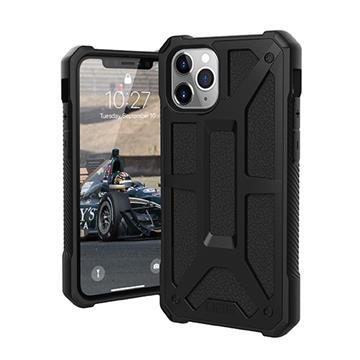 UAG iPhone11 ProMax頂級耐衝擊保護殼-極黑