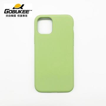 Gobukee iPhone 11 極纖矽膠保護套-綠