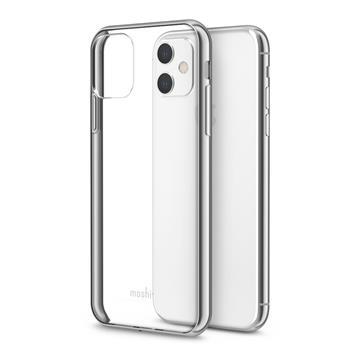 Moshi Vitros iPhone 11 超薄透亮保護殼-銀