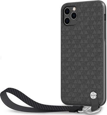Moshi Altra iP11 Pro Max 腕帶保護殼-黑