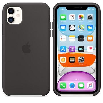 iPhone 11 矽膠保護殼-黑色