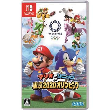 Switch 瑪利歐&索尼克2020東京奧運 中文版 4974365861797