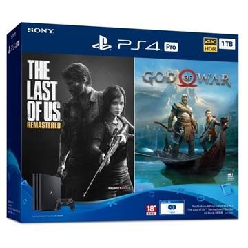 PS4 Pro 戰神/最後生還者 重製版同捆組 ASIA-00355
