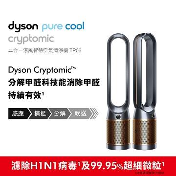 戴森Dyson 二合一涼風智慧空氣清淨機TP06 TP06(黑銅色)