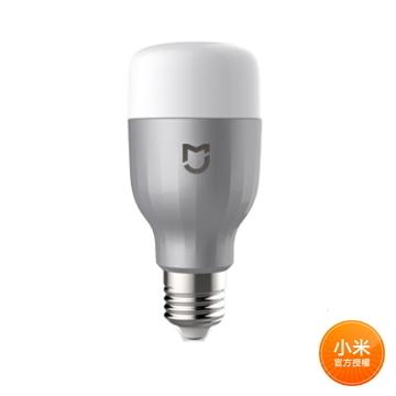 米家 LED 智慧燈泡 彩光版(白色)