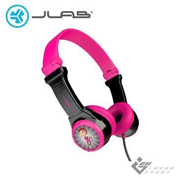 JLab JBuddies Folding 兒童耳機-粉紅色