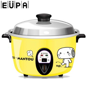 【展示品】EUPA 饅頭家族12人份電鍋