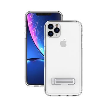JTLEGEND iPhone 11 Pro立架雙料保護殼-透明
