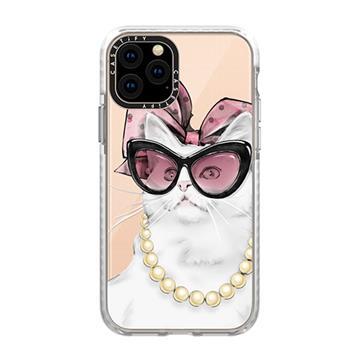 Casetify iPhone 11 耐衝擊保護殼-名媛貓