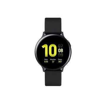 SAMSUNG Galaxy Watch Active2 鋁製/44mm SM-R820NZKABRI午夜黑