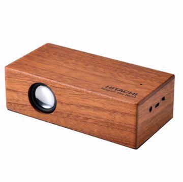 日立木質無線感應音箱