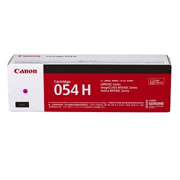 佳能Canon CARTRIDGE 054H M高容量紅色碳粉匣