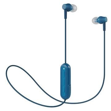 鐵三角 CK150BT耳塞式藍牙耳機-藍 ATH-CK150BT BL