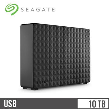 【拆封品】【10TB】Seagate 3.5吋 外接硬碟(新黑鑽)