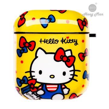 Hongman 三麗鷗系列 AirPods防塵耐磨保護套 309290-Hello Kitty