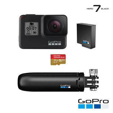 GoPro HERO7 Black 假日組合 CHDRB-701